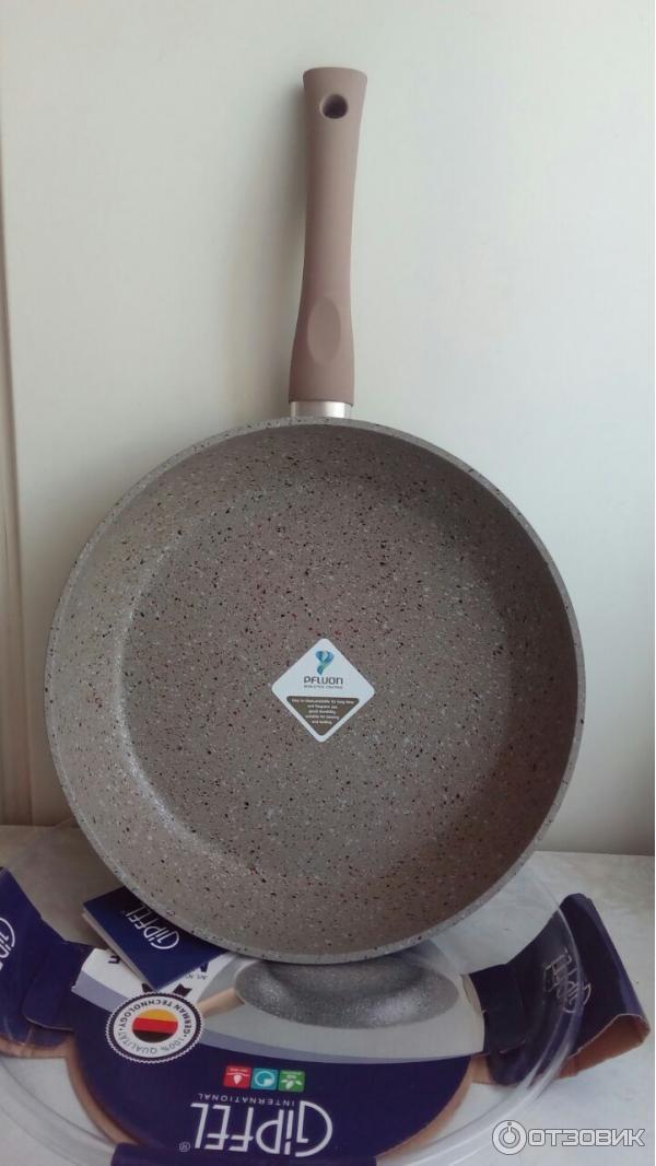 Сковорода гипфел с мраморным покрытием отзывы