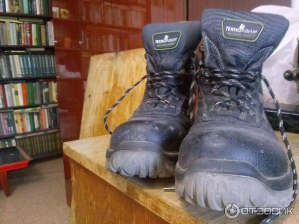 84ed93c5e Отзыв о Ботинки мужские кожаные Техноавиа