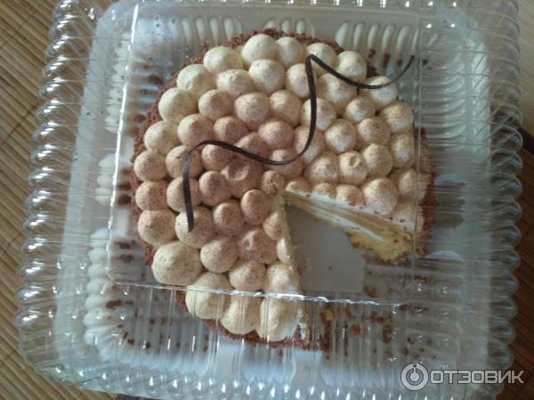 Торт Любимая Шоколадница Тирамису фото