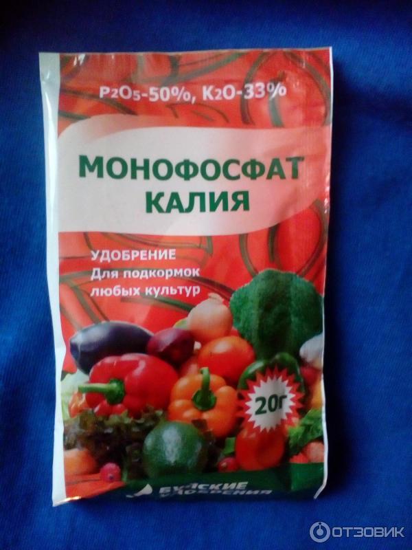Применение монофосфата калия для рассады помидор 1