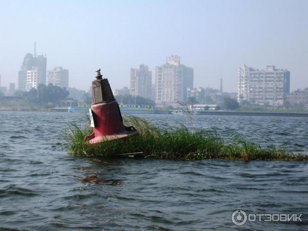 прогулка на лодке по нилу
