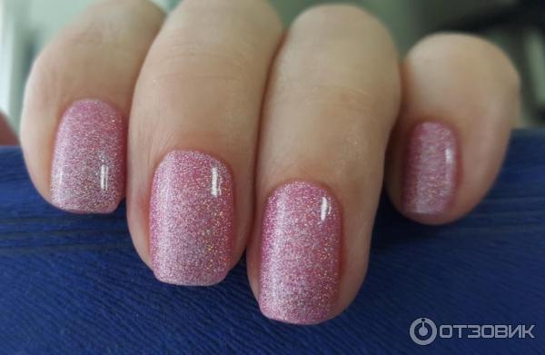 розовый Гель-лак AKEMI с шиммером