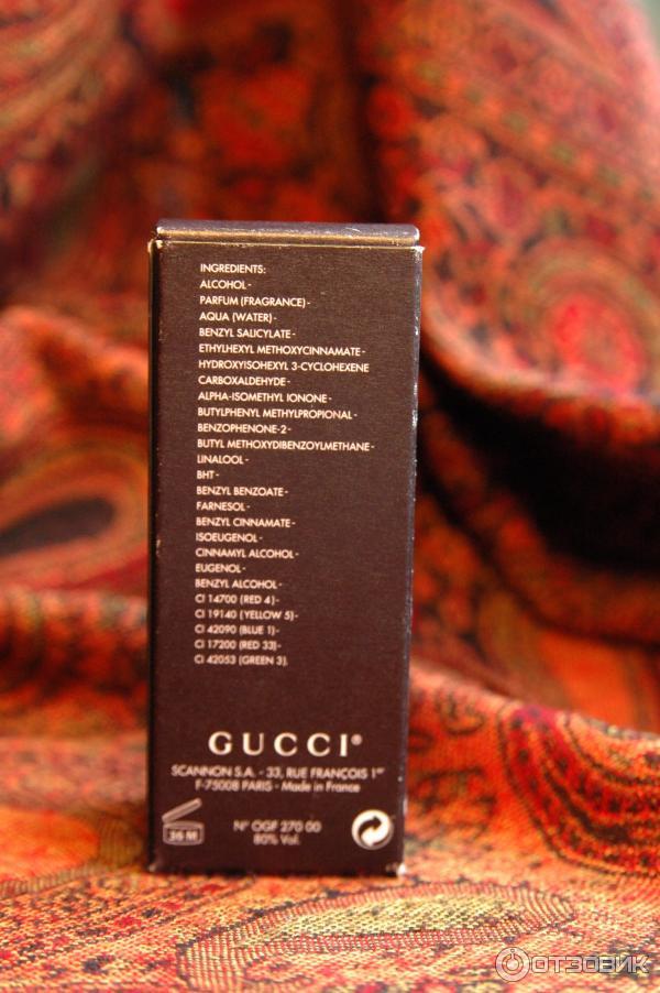 Духи женские Gucci Eau de Parfum Gucci фото