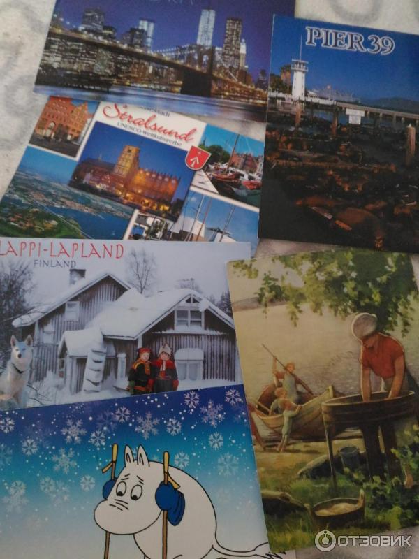 Обмен открытками по россии может