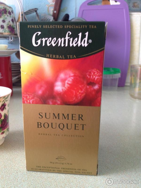 Чай гринфилд саммер букет отзывы