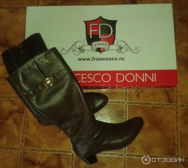 80bca1226 Отзыв о Сапоги женские Francesco Donni   Качественная российская обувь