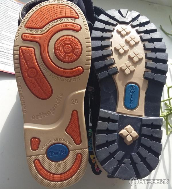 Ботинки ортопедические TWIKI фото