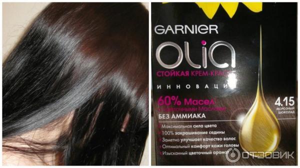 Крем краска для волос Garnier Olia - палитра цветов, отзывы 93