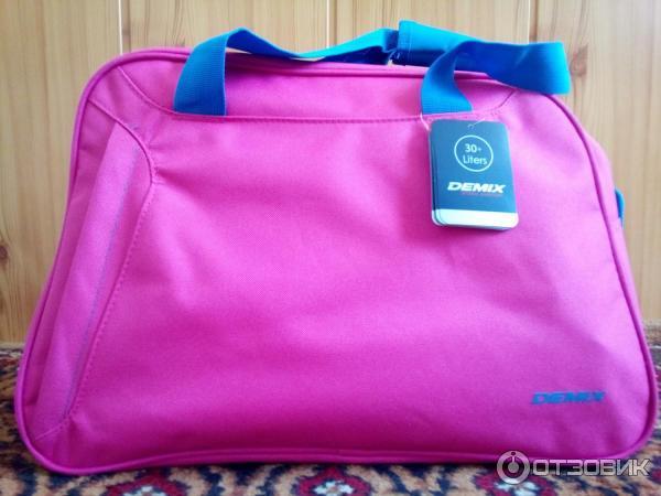 8ef6fa80f2a9 Отзыв о Спортивная сумка Demix | Розовая крутышка!