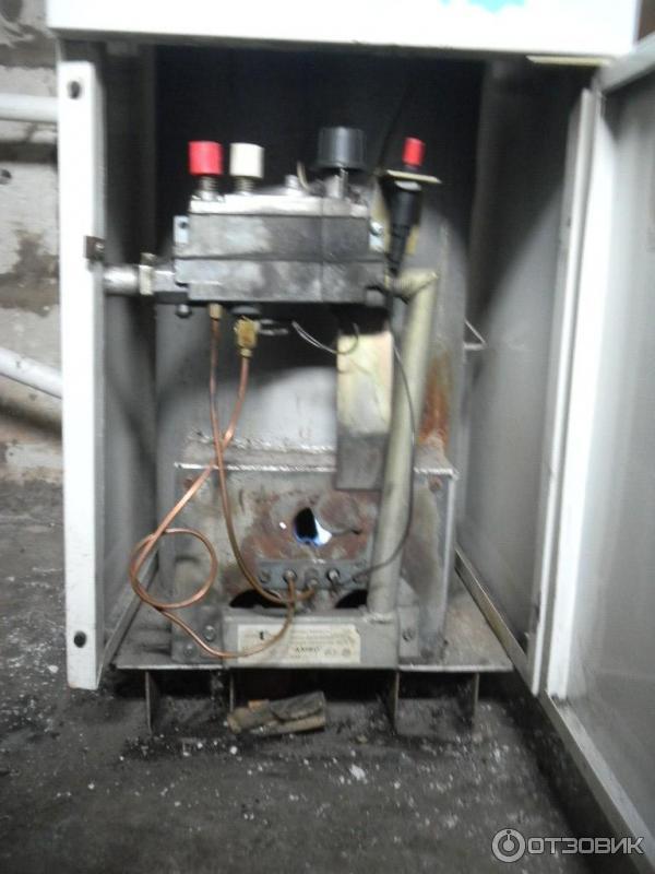 как зажечь газовый котел кебер