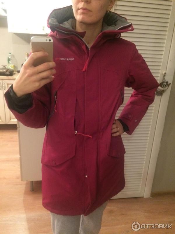 1bcdab419de Отзыв о Зимняя женская куртка Didriksons mimi