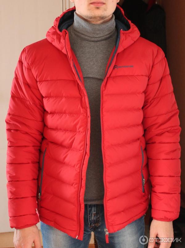 535f924dba263 Отзыв о Мужская куртка пуховая Outventure | Пуховая куртка за ...