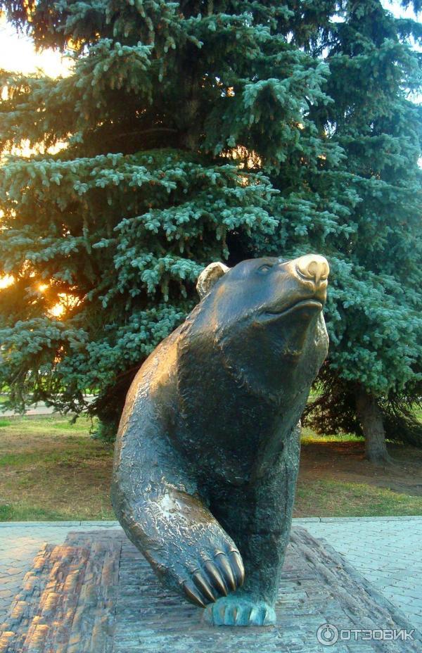 фото пермского медведя что