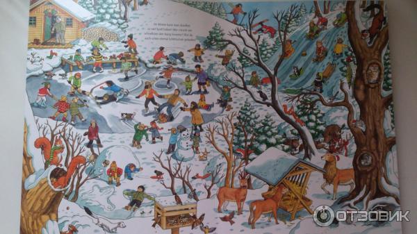 Wimmelbuch Weihnachten.отзыв о книжка гляделка Mein Extradickes Wimmelbuch Weihnachten