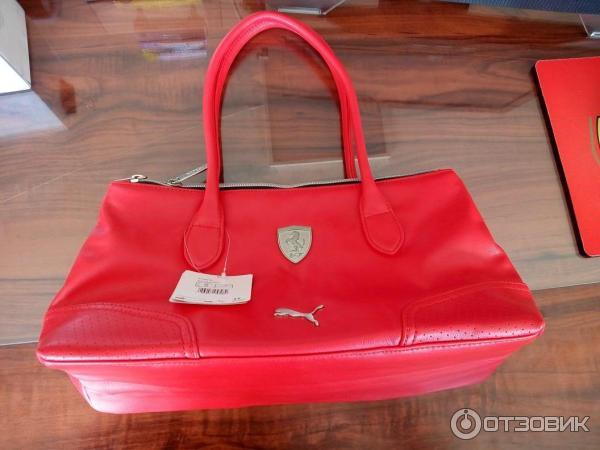 02dc48c5e243 Отзыв о Женская сумка Puma Ferrari   Мне понравилась, ждем мнение ...