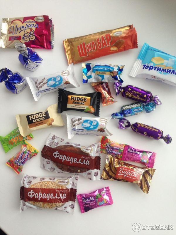 конфеты акконд официальный сайт фото сообщила, что снимок