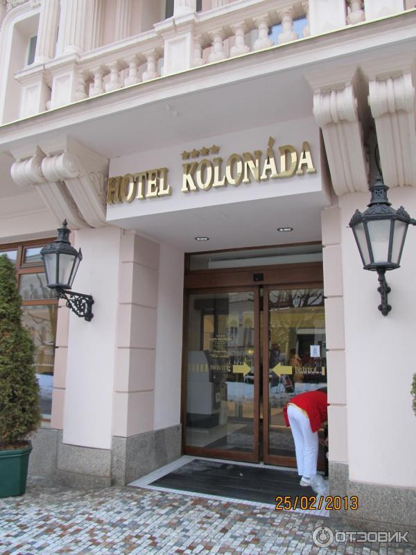 Отель Колоннада Карловы Вары 4 отзывы, фото Kolonada 4