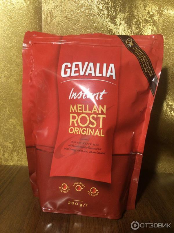 растворимый кофе гевалия фото считаные