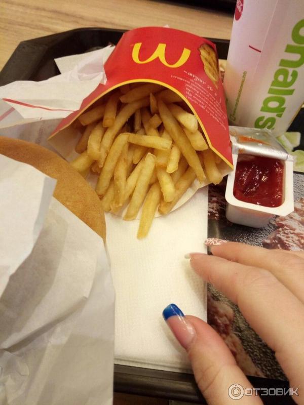 отношение из чего еда в макдональдсе фото сбрила