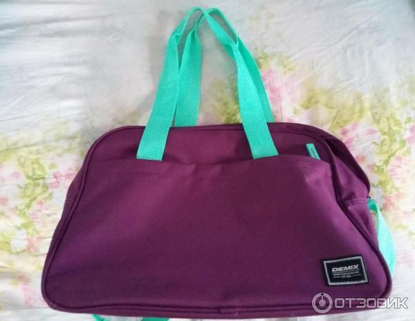 e7dd9b653ed4 Отзыв о Спортивная сумка Demix | Дешёвая, но качественная и ...