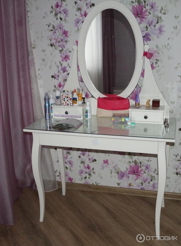отзыв о туалетный столик Ikea хемнэс покорение дамского сердца