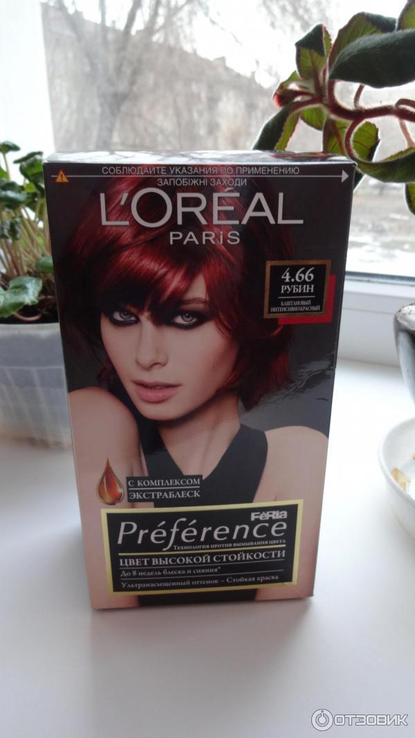 Znalezione obrazy dla zapytania Краска для волос Preference: стойкость и эффект