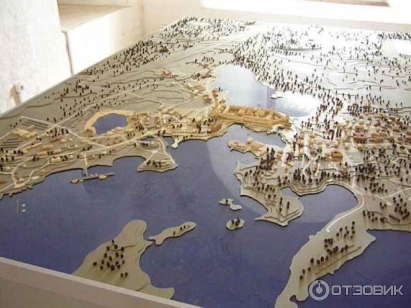 Макет Соловецких островов