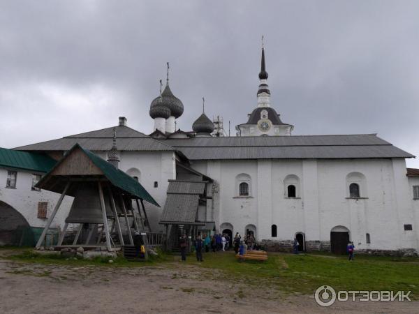 Соловецкий монастырь, звонница и ларек