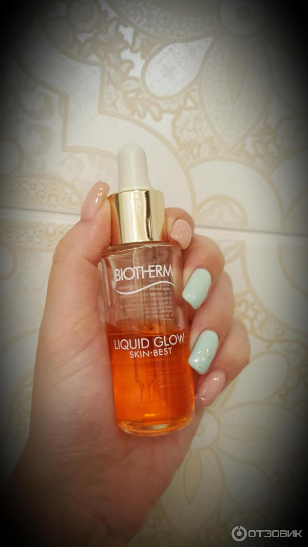 Масло для лица Biotherm Liquid glow skin best oil фото