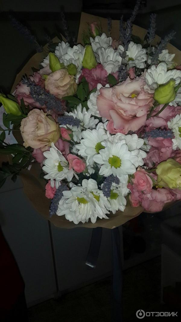 Отзывы служба доставки цветов