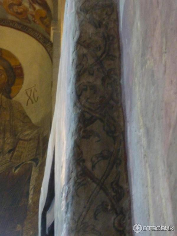 росписи одного из столбов в Светицховели